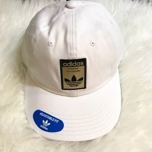 4be3e26d4af adidas Accessories - Adidas Originals Relaxed Base White Strapback Hat